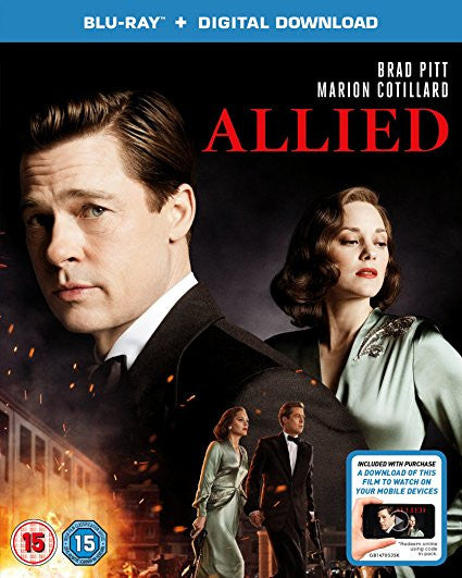 Allied (Blu-ray + Digital Download)