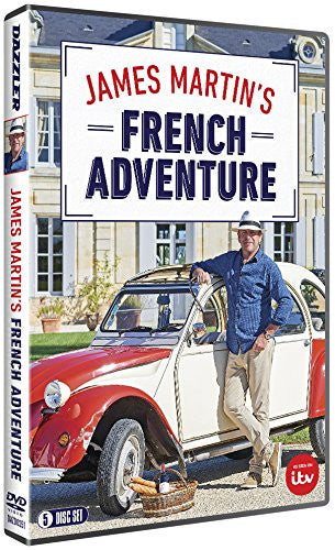 James Martin's French Adventure - Series One (5 DVD set)