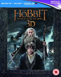 The Hobbit: The Battle Of The Five Armies 3D - Extended Edition [Blu-ray]