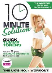 10 Minute Solution - Quick Tummy Toners [DVD]