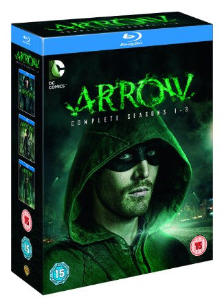 Arrow - Season 1-3 [Blu-ray]
