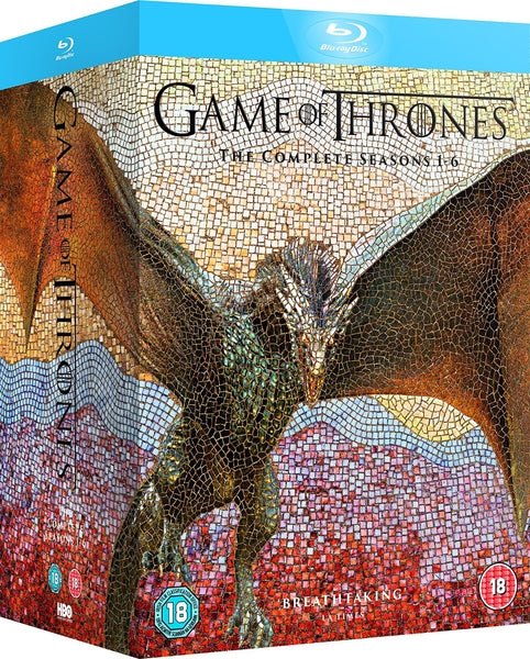 Game of Thrones - Season 1-6 [Blu-ray] [2016] [Region Free]