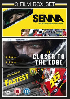 Senna (2011) / TT: Closer to the Edge (2011) / Fastest (2012) - Triple Pack [DVD]