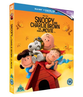 Snoopy And Charlie Brown The Peanuts Movie [Blu-ray + Digital]