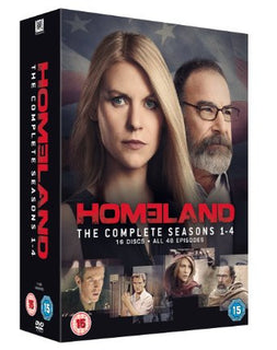 Homeland - Season 1-4 [DVD]