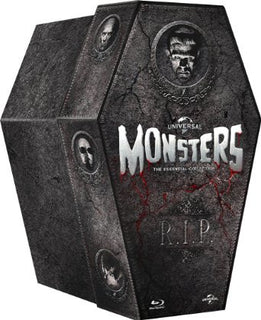 The Classic Monster Coffin Collection [Blu-ray]