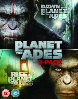 Dawn of the Planet of the Apes / Rise of the Planet of the Apes [Blu-ray]