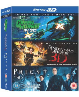 The Green Hornet / Resident Evil: Afterlife / Priest (Blu-ray 3D)