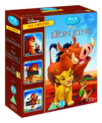 The Lion King 1-3 [Blu-ray]