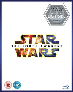 Star Wars: The Force Awakens [Limited Edition Light Side Artwork Sleeve] [Blu-ray + Bonus Disc]