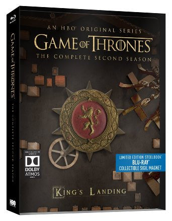 Game Of Thrones Season 2 Limited Edition Steelbook Blu Ray The Dvd Hut