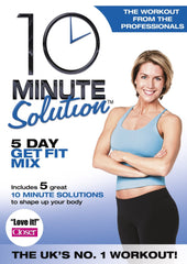 10 Minute Solution - Five Day Get Fit Mix [DVD]