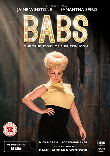 Babs 'The True Story of a British Icon - Barbara Windsor' (BBC1 Drama) [DVD]