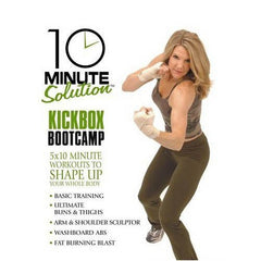 10 Minute Solution - Kickbox Bootcamp [DVD]