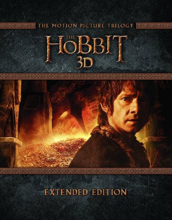 The Hobbit Trilogy - Extended Edition [Blu-ray 3D] [2015]
