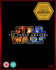 Star Wars: The Force Awakens [Limited Edition Dark Side Artwork Sleeve] [Blu-ray + Bonus Disc]
