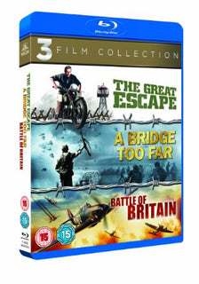 The Great Escape / A Bridge Too Far / Battle of Britain Triple Pack [Blu-ray]