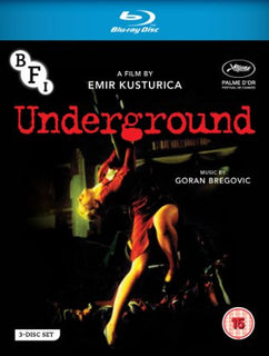 Underground (Limited Edition Set - 1 x Blu-ray + 2 x DVD)