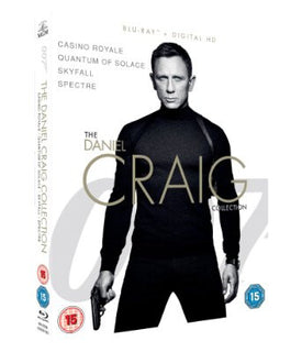 James Bond - The Daniel Craig Collection 4-Pack [Blu-ray]