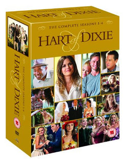 Hart Of Dixie - Season 1-4 [DVD] [2015]