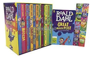 Roald Dahl 15 Books Collection