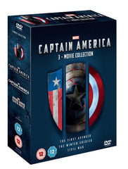 Captain America 1-3 [DVD]