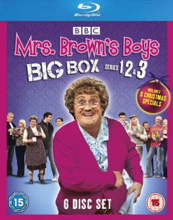 Mrs Brown's Boys - Big Box Series 1-3 [Blu-ray]
