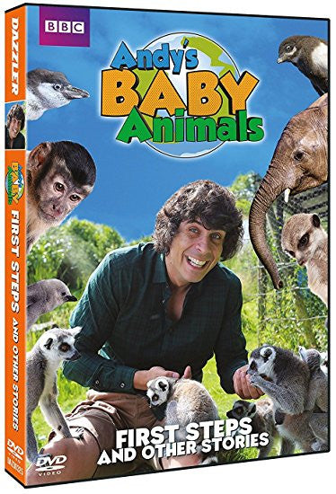 Andy's Baby Animals - First Steps and other Stories (Vol 1) [DVD]