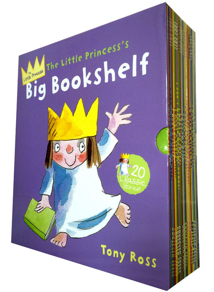 The Little Princess's Big Bookshelf 20 Books Collection