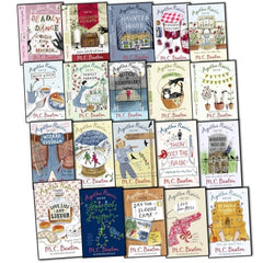 Agatha Raisin 20 Books Collection