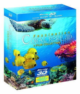 Fascination Coral Reef 3D: 3 Film Collection [Blu-ray]