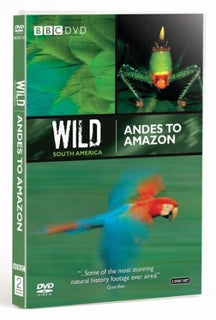 Wild South America: Andes to Amazon [DVD]