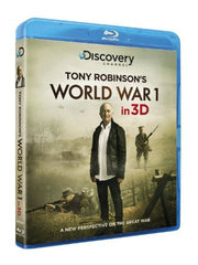 World War I (in 3D) With Tony Robinson [Blu-ray 3D]