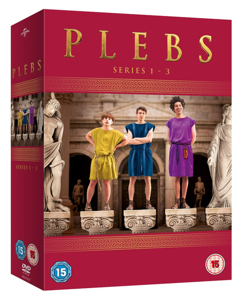 Plebs: Series 1-3 [DVD]
