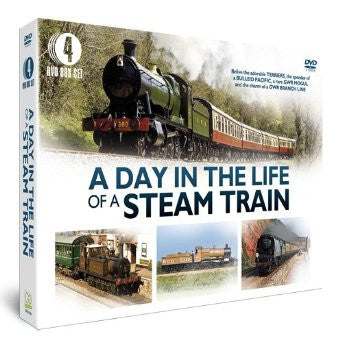 A Day in the Life of a Steam Train [DVD]