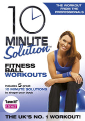 10 Minute Solution - Fitness Ball Workouts [DVD]