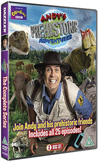 Andy's Prehistoric Adventures - The Complete Series (All 25 Episodes) [DVD]
