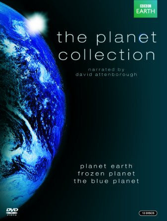 The Planet Collection (Blue Planet / Planet Earth / Frozen Planet) [DVD]