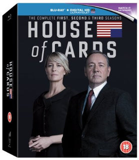 House of Cards - Season 1-3 [Blu-ray]