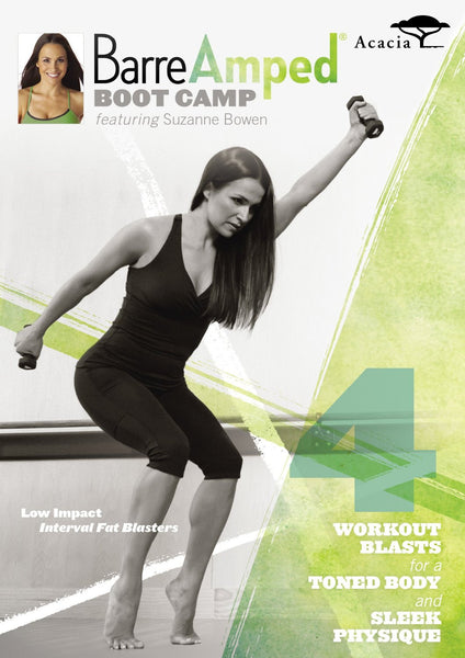 BarreAmped Boot Camp with Suzanne Bowen [DVD]