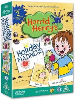 Horrid Henry's Holiday Madness Double DVD Pack