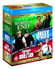 The World's End/Hot Fuzz/Shaun of the Dead [Blu-ray]