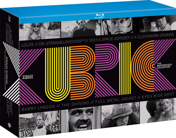 Stanley Kubrick - The Masterpiece Collection [Blu-ray] [1962] [Region Free]