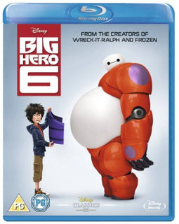 Big Hero 6 [Blu-ray] [Region Free]
