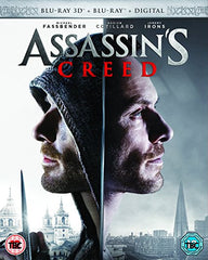 Assassin's Creed (Blu-ray 3D + Blu-ray + Digital HD)