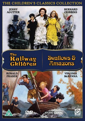 Classic Children's Films - Swallows and Amazons / The Railway Children [DVD]