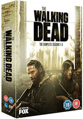 The Walking Dead - Season 1-5 [DVD]