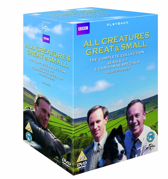 All Creatures Great and Small Complete Collection [DVD]