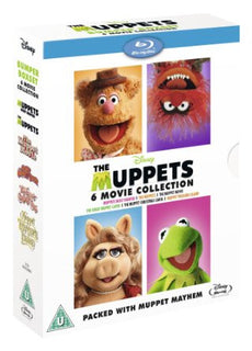 The Muppets Bumper 6 Movie Collection [Blu-ray]