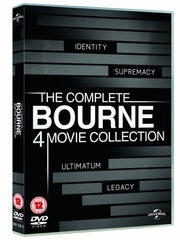 The Complete Bourne 4-Movie Collection [DVD]